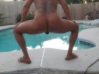 Poolside Exersize