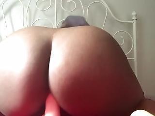 Sexy Ebony Teen Morning Session