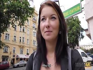 Adorable Teen Hottie Gets Cash And Receives Sexual Pleasure