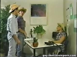Motel Cowboys - Free Classic Porn Movie Clips, Vintage Spanking Videos