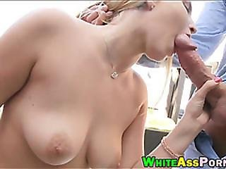 Hot Booty Babe Vanessa Cage Gets Her Twat Wrecked Good