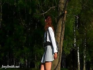 Anime Hentai Style Up Skirt Flashing By Jeny Smith