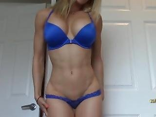 amateur, luder, blondine, fitness, solo