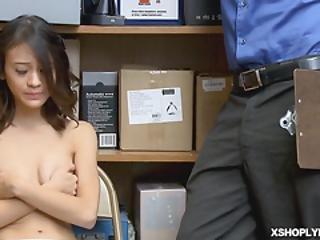 Jasmine Fucked For Suspected Stealing Goods
