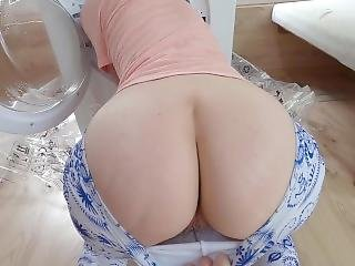 Stepsister Fucked By Stepbrother While Stuck In Washing Machine