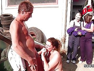 Dad, Daughter, Fucking, German, Hardcore, Milf, Mom, Outdoor, Teen