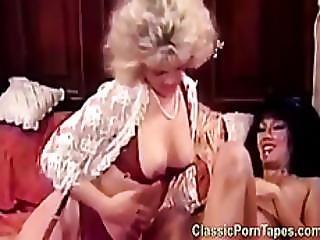 Retro Lesbian Muffdiving Porn