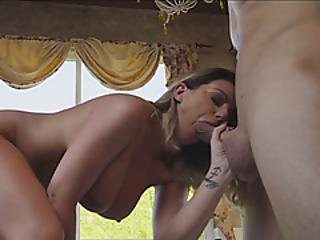 Tattooed Milf Pleased With Fat Dick