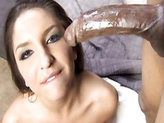 Giselle Leon Picked Up And Fucks Big Black Cock