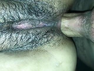 anal, røv, babe, stor røv, krem, creampie, tissemand, hardcore, latina, rå, sex, søster