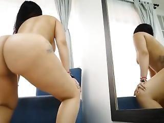 Nude Twerk In Mirror