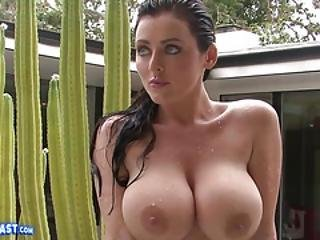 Sophie Dee Teases With Massive Bazookas