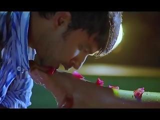 Navel - Veena Malik Kissing