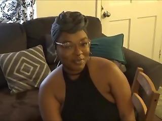 Beautiful Ebony Girlfriend Smoking Fetish
