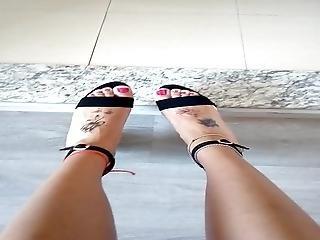 My Sexy Feet In Heels