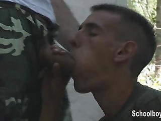 Young Soldier Caught Jacking