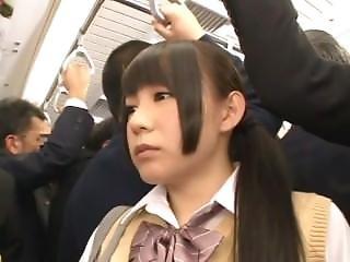 Schoolgirls Crowded Train Fantasy - Part 2 (mrbob)