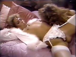 Amber Lynn, Debra Lynn, Erica Boyer In Vintage Sex Scene