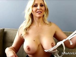 Busty Blonde Teacher Julia Ann Fucks Herself