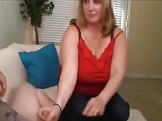 Huge-titted Blonde Gets Blasted