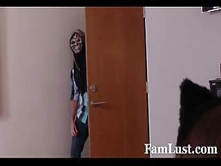 Tricked My Slutty Halloween Step Sisters - Famlust.com