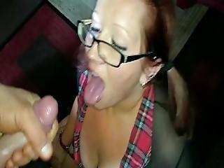 Schoolgirl - Blowjob And Facial