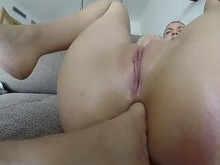 Real Amateur Couple Trying Anal Fingering And Fucking - Full Vid For Fans