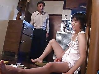 Hot Mom Aoba Itou Kneels To Suck On A Younger Cock