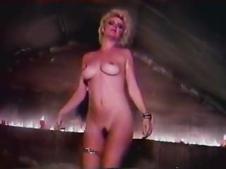 Ginger Lynn Allen, Traci Lords, Tom Byron In Vintage Porn Video