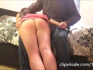 Spanked For Leaving The House A Mess