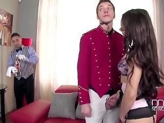 Ddfnetwork - Rich Russian Beauty Ultra Hot Double Penetration