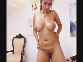 Beautiful Amateur Brunette Teen Strippingrea