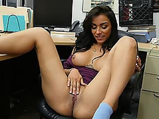 A Heated Nasty Sex Act In The Pawnshop With Latina Jessi