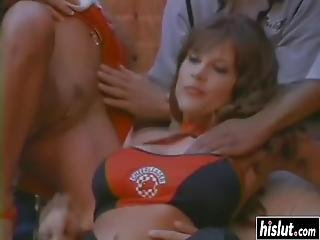 Smoking Hot Rebecca Love Got Talked Into Fucking With Naughty Guys Outdoors