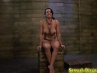 Sub Tied For Rough Fuck