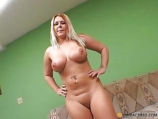 Thick Black Cock For Busty Mom