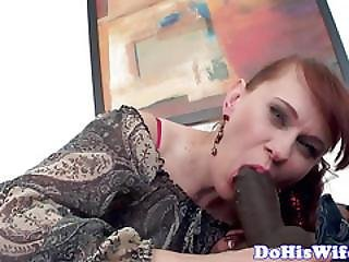 Redhead Wife Creampied In Front Of Hubby