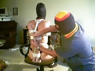 Slave Nikki Wrapped As A Package