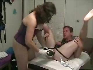 Dominatrix Feminization Huge Anal Obect Insertions & Anal Fisting