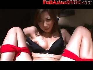 Asian Milf Maid Tied And Made To Cum 2