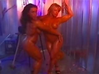 2 Muscled Chick$ - Wet And Sexy