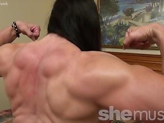 Hard Body Female Getting Kinky