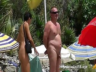 Saw This Girl On Nude Beach In Spain