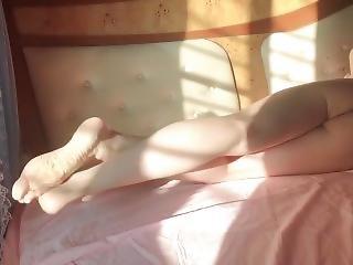 nogi, masturbacja, solo
