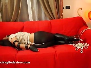 Tape Gagged Boots