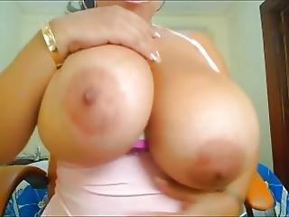 Bbw, Store Bryster, Bryst, Maloner, Webcam