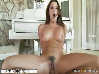 Brazzers   Pornstar Takes Dick Over Piano Any Day