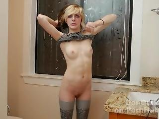 Bts Slim 18yo Talks What Life Is Like In Porno Biz While Gettind Dressed