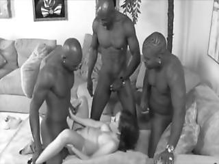 フェラチオ, 4P, 乱交, 異人種間の, ローティーン, 白い
