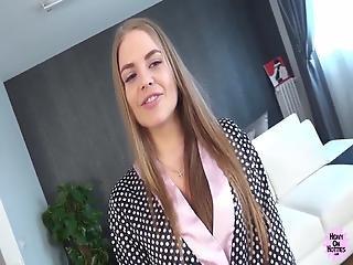 Stunning Russian Virgin Fucked Hard And Facialled